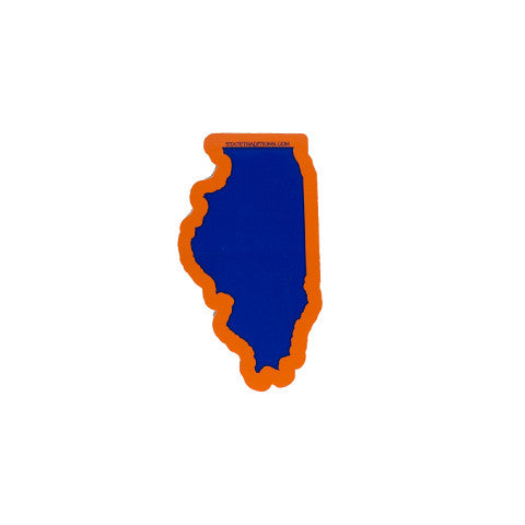 Illinois Champaign Sticker