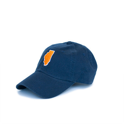 Illinois Champaign Gameday Hat Navy