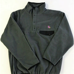 Louisiana Baton Rouge Fleece Pullover Grey and Black
