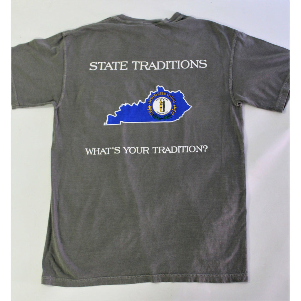 Kentucky Traditional Short Sleeve T-Shirt Grey