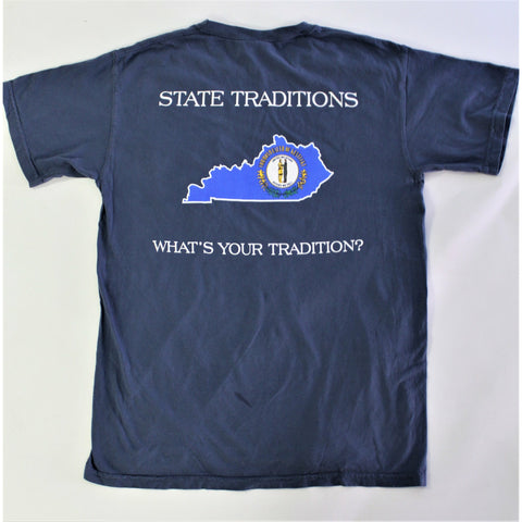 Kentucky Traditional Short Sleeve T-Shirt Navy