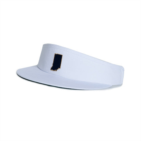 Indiana South Bend Gameday Golf Visor White