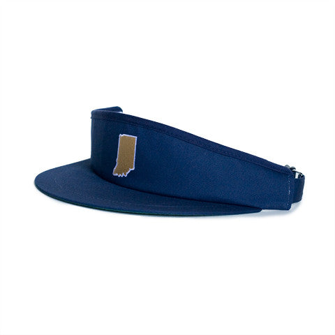 Indiana South Bend Gameday Golf Visor Navy