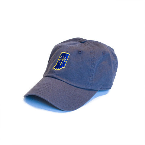 Indiana Traditional Hat Charcoal