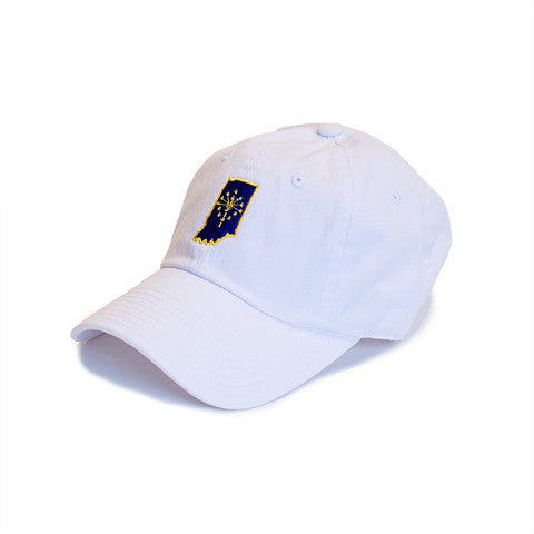 Indiana Traditional Hat White