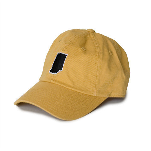 Indiana West Lafayette Gameday Hat Gold