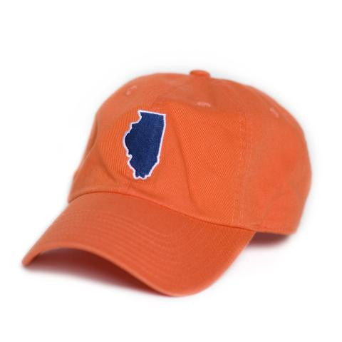 Illinois Champaign Gameday Hat Orange