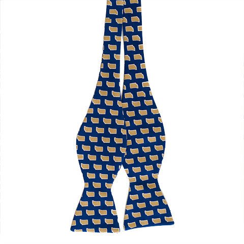 Indiana South Bend Gameday Bow Tie Navy