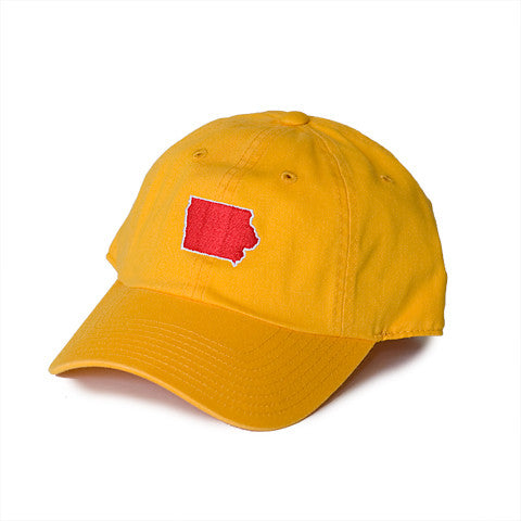 Iowa Ames Gameday Hat Gold