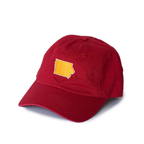 Iowa Ames Gameday Hat Red
