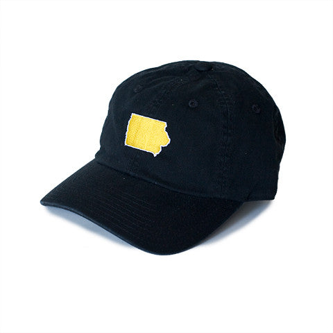 Iowa Iowa City Gameday Hat Black