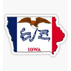 Iowa Traditional Sticker