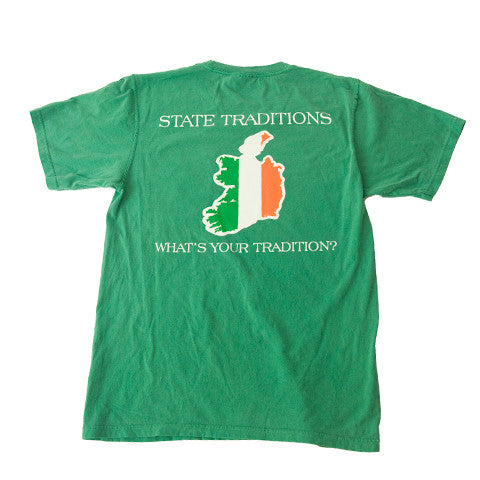 Ireland Traditional T-Shirt Green