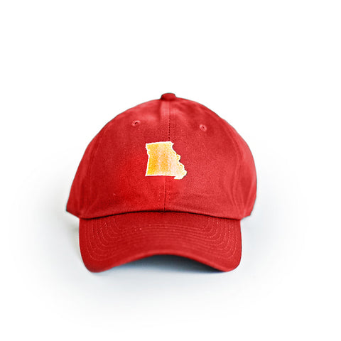Missouri Kansas City Gameday Hat Red