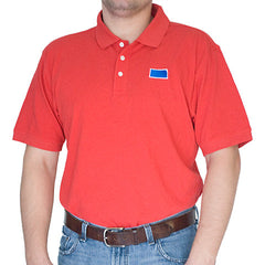 Kansas Lawrence Gameday Polo Red