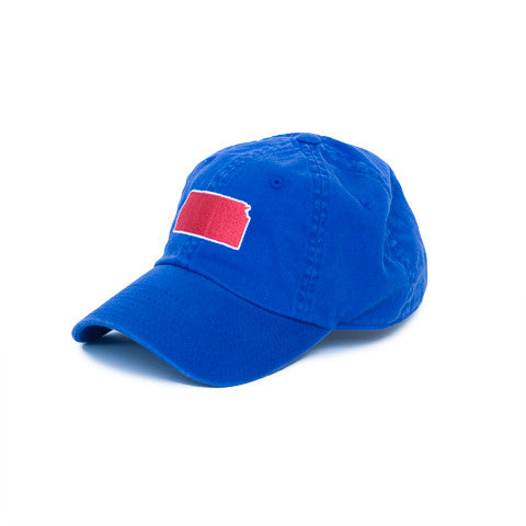 Kansas Lawrence Gameday Hat Blue