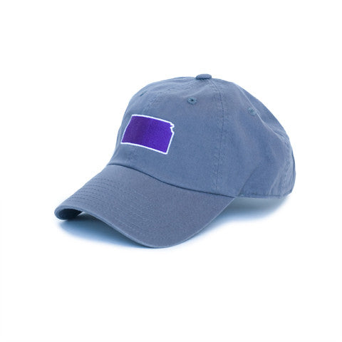 Kansas Manhattan Gameday Hat Grey