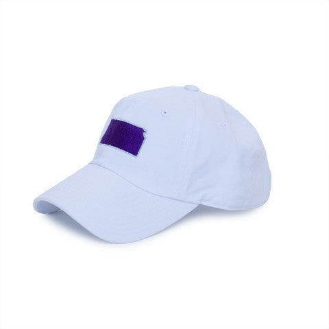 Kansas Manhattan Gameday Hat White