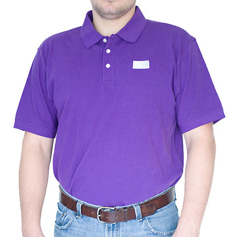 Kansas Manhattan Gameday Polo Purple
