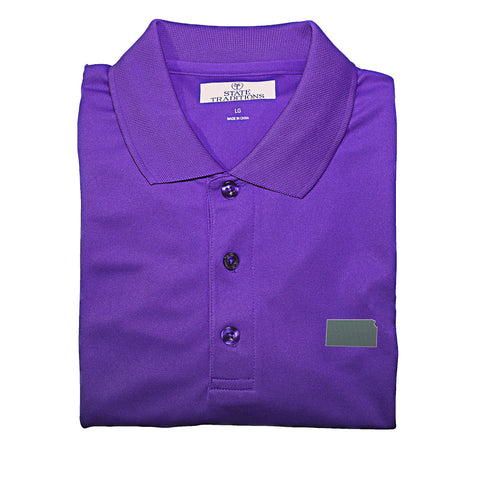 Kansas Manhattan Gameday Performance Polo