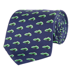 Kentucky Traditional Tie Navy