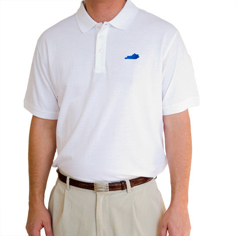 Kentucky Lexington Gameday Polo White