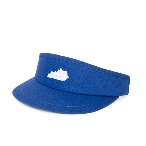 Kentucky Lexington Gameday Golf Visor Blue