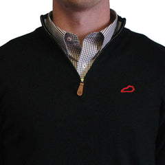 Kentucky Louisville 1/4-Zip Pullover Black