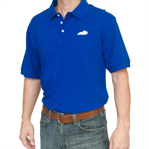 Kentucky Lexington Gameday Polo Blue