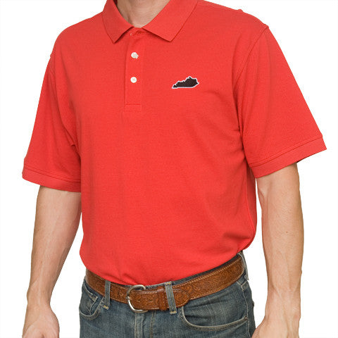 Kentucky Louisville Gameday Polo Red