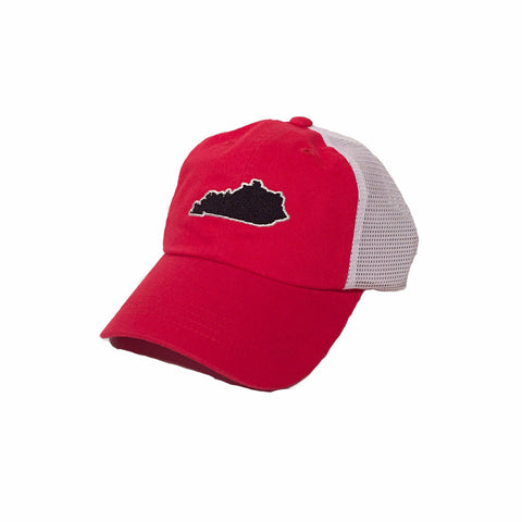 Kentucky Louisville Gameday Trucker Hat Red