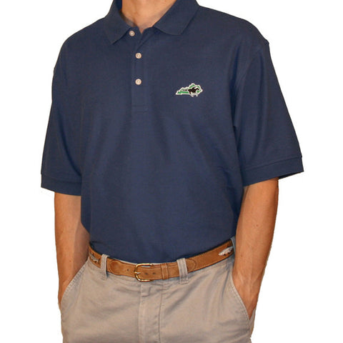 Kentucky Traditional Polo Navy
