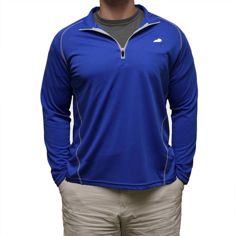 Kentucky Lexington Gameday Performance Pullover Blue