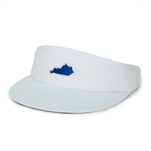 Kentucky Lexington Gameday Golf Visor White