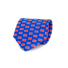 Kansas Lawrence Gameday Tie Blue