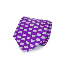 Kansas Manhattan Gameday Tie Purple