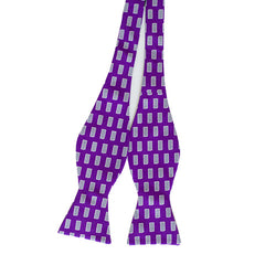 Kansas Manhattan Gameday Bow Tie Purple