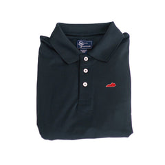 Kentucky Louisville Clubhouse Performance Polo Black