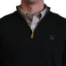 Louisiana Baton Rouge 1/4-Zip Pullover Black