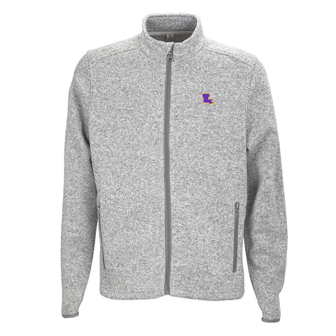 Louisiana Baton Rouge Gameday Heather Sweater Grey