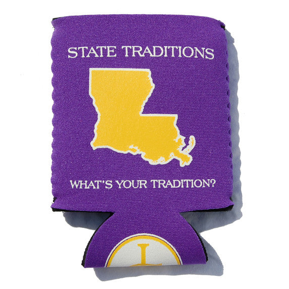 Louisiana Baton Rouge Gameday Koozie