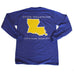 Louisiana Baton Rouge Gameday Long Sleeve T-Shirt