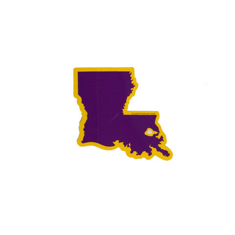 Louisiana Baton Rouge Gameday Sticker