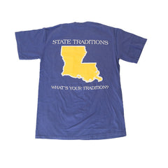 Louisiana Baton Rouge Gameday T-Shirt Purple