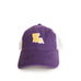 Louisiana Baton Rouge Gameday Purple Trucker Hat Front View