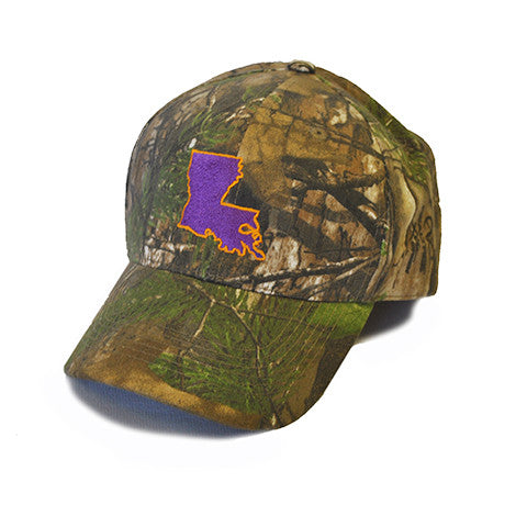Louisiana Baton Rouge Gameday Youth Hat Camo