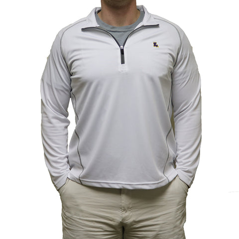 Louisiana Baton Rouge Gameday Performance Pullover White