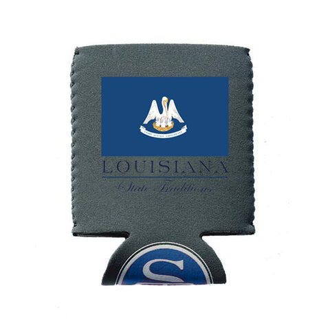 Louisiana Flag Koozie