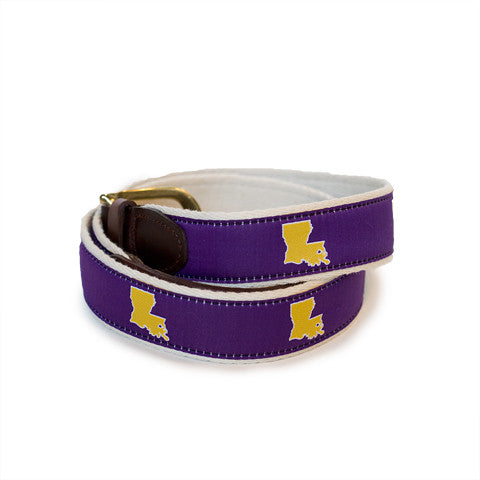 Louisiana Baton Rouge Gameday Belt