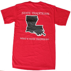 Louisiana Lafayette Gameday T-Shirt Red